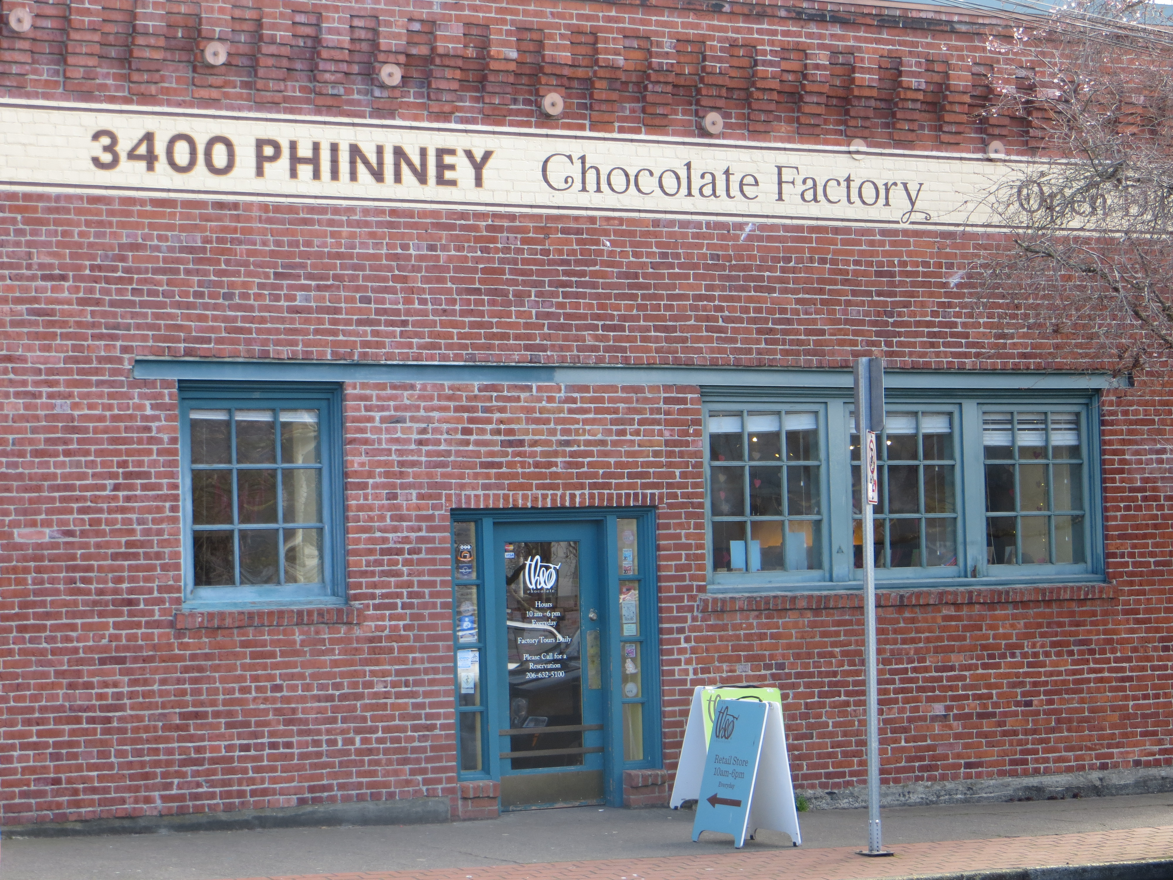 Theo Chocolate Tour   Treats and Trends